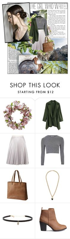 """""""pleated skirt"""" by l-kurdiovska ❤ liked on Polyvore featuring Nearly Natural, Antipodium, Glamorous, SOREL, Topman and Carbon & Hyde"""