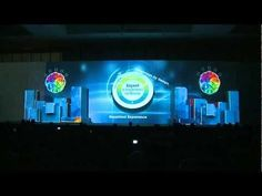 Stage 3D Video Mapping, Product Launching - IBM Conference & Exhibition 2012 - YouTube
