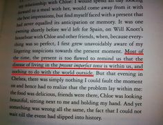from essays in love by alain de botton literature  the present is too flawed from essays in love by