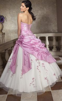 Another view of style Q202 from Allure - what a pretty prom dress :)