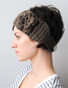 Crochet Earwarmer Headwrap
