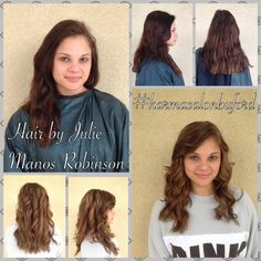 Hair by Julie Manos-Robinson #hair #layers #pureologylove #redkenobsessed #hairbyjuliemanosrobinson