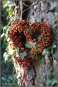 <3 heart wreath <3