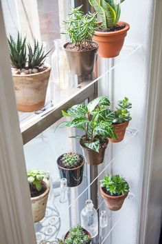 Save this lucite home decor DIY project to make floating window shelves.