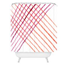 Social Proper Threads That Bind Us Shower Curtain | DENY Designs Home Accessories