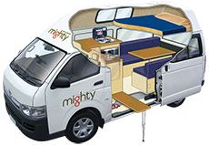 The Highball is a 3 berth motorhome perfect for a group of mates to get away in. Get a quote and book the double down campervan online today. Campervan Hire Australia, Australia Travel, Hiace Camper, Motorhome Rentals, Build A Camper, Campervan Rental, Toyota Hiace, Bus, Camper Van