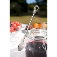Polished Knot Jam Spoon - buy now from adventino.co.uk