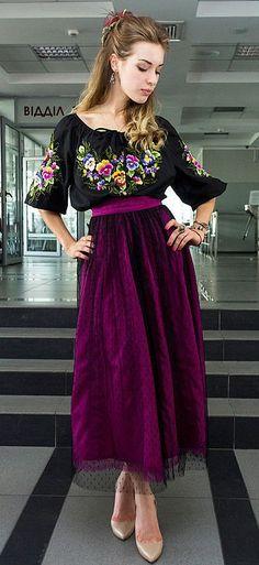 Ольга Стрельцова дизайнер Ukrainian beauty folk fashion