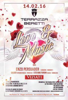 #loveandmusic #sanvalentino2016 #enzopersuader #stefanoforoni #silver domenica 14 febbraio 2016