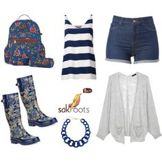 """Rainy Summer Day"" by sakroots on Polyvore"