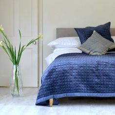 Bedroom style inspiration and ideas: Hindan Quilt Bedspread