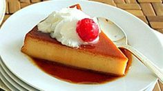 Homemade flan is a dessert that's easy to prepare. And if we add a different touch to the traditional flan, it is sure to be a hit among your guests.