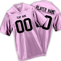 108ae542d Women s   Girls Fan Wear Custom Football Jersey with Your Names and Numbers  17 Colors Available
