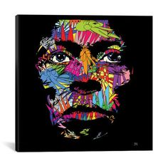 Miles Davis by TECHNODROME1: 37 x 37-Inch Canvas Print