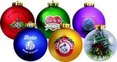 "The round 3 1/4"" shatterproof satin finished Holiday ornaments can be custom imprinted for your business, school or organization. Great product for Fundraisers, Store decorations, Keepsakes, Family reunions, Employee gifts, Customer appreciation, Wedding favors and Company parties. Available in ornament colors of Gold, Blue, Red, White, Green , Purple and Clear. The imprint area on the ornament is 1 3/4"" in diameter. Call 800 960-9080 or donace@acenovelty.com"