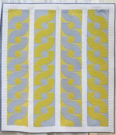 The Quilts of Quiltcon 2016 – Fancy Tiger Crafts Constellation Quilt, Kill It With Fire, Quilt Display, Tiger Crafts, New York Beauty, Yellow Quilts, Modern Quilt Patterns, Dresden Plate, Kintsugi
