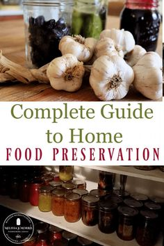 Put up your fresh produce with these easy methods of home food preservation from dehydrating, fermenting, canning, freezing, and root cellar techniques for year-round eating. #canning #fermenting #dehdyrating Canning Lids, Home Canning, Canning Recipes, Canning Supplies, Do It Yourself Inspiration, Home Grown Vegetables, Cabbage Rolls, Home Food, Food Safety