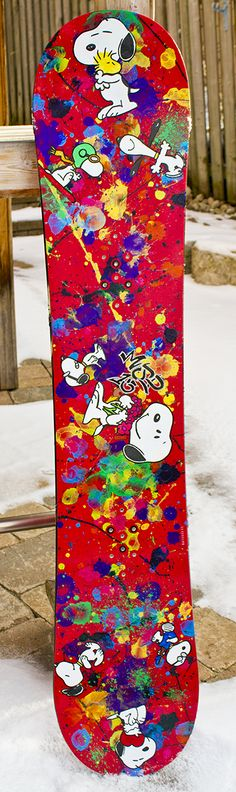 Snoopy Snowboard