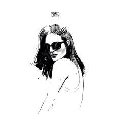 """@mundopiruuu en Instagram: """"Apunte rápido basado en una foto de la estupenda @galagonzalez Ahora a trabajar, sí amigos un ilustrador despierto a las 8 para ponerse a dibujar """""""