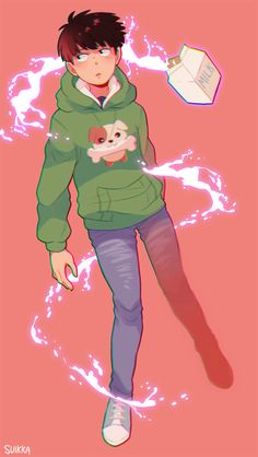 anime, mob, and kageyama shigeo 이미지