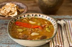 red chili pepper soup