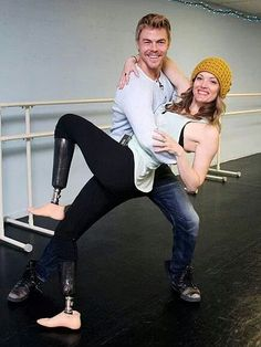 Amy Purdy and Derek