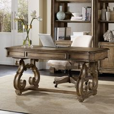 Have to have it. Hooker Furniture Solana Writing Desk - $1573 @hayneedle