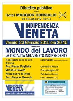 L'INDIPENDENZA DI SAN MARCO: APPUNTAMENTO CON INDIPENDENZAVENETA.COM IL 23 GENN...