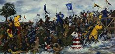 On this day in 1297 the Battle of Stirling Bridge, a battle of the First War of Scottish Independence, saw the forces of Andrew Moray and William Wallace defeat the combined English forces of John de. Battle Of Stirling Bridge, William Wallace, Scottish Independence, 11. September, Picts, Dark Ages, Military Art, 14th Century, Warfare