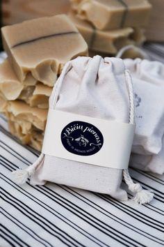 Pieno ir medaus muilas | soap packaging