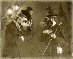 """""""gentlemen plague doctors""""   tom banwell"""