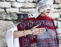 OM tanzanite bracelet by Laura Vargalui. Tanzanite Bracelet, Om, Winter Hats, Photography, Fashion, Moda, Photograph, Fashion Styles, Fotografie