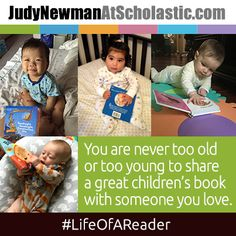 Visit JudyNewmanAtScholastic.com to find out what some of the new moms in our office are reading with their babies! ‪  #LifeOfAReader #JNBlog #BabyBooks #ReadFromBirth