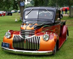 Flaming 1946 Chevy Truck | by Photo Crazy Rob