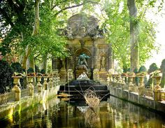 Luxemburg Park Gardens,  Parc Monceau, Paris. Had a lovely post-brekfast time here, just sit in front of this beautiful place thinking!