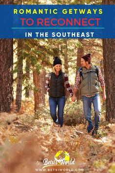 Romantic getaways are a great way to reconnect and relax.The Southeast United States has a lot of romance and beautiful scenery to offer those wanting to rekindle the fire in their relationship. Check out this list of charming towns to visit in the southeast, US. #beautifulplacestotravel #bestplacestotravelinus #romanticgetaways #travel Travel And Leisure, Travel Usa, Best Romantic Getaways, Beautiful Places To Travel, United States Travel, Wanderlust Travel, Family Travel, Countryside, Scenery