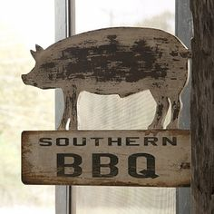 Our Wooden Signs are BBQ signs that are perfectly distressed and the perfect addition for any amazing southern style home! Use these Wooden Pig signs to add a surprising element that everyone is sure to love! Visit, www.decorsteals.com OR www.facebook.com/decorsteals