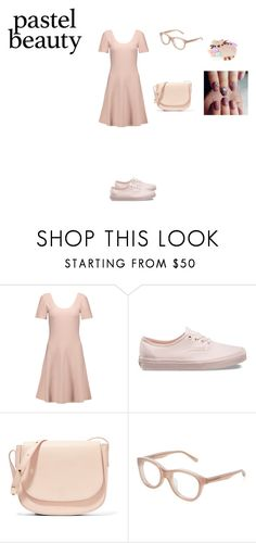 """""""Spring Pastel"""" by aliyah-238-daniel on Polyvore featuring Theory, Vans, Mansur Gavriel, Linda Farrow, Pusheen, pastel and contestentry"""