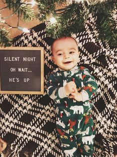 Baby Christmas Photos Ideas - Luxury Baby Christmas Photos Ideas , Baby S First Christmas Letterfolk Board Tree Baby Christmas Photos, Holiday Pictures, Babies First Christmas, 1st Christmas, Xmas, Winter Baby Pictures, Newborn Christmas, Milestone Pictures, Monthly Pictures