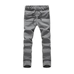 Men's Soft Simple Active Full Length Sweatpants