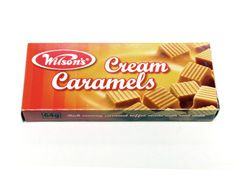 Wilsons Cream Caramels. Best Caramels in the world!