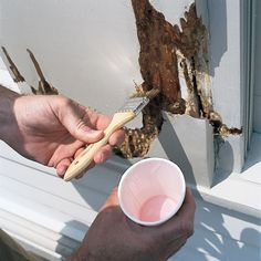 How to Repair Rotted Trim with Epoxy