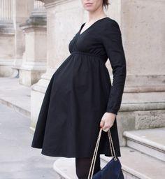 Vignette-dress-pregnancy-woman pregnant-be-pretty-patron-sewing