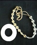 disk bracelet & necklace