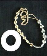 disk bracelet & necklace