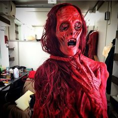 Crimson Peak (2015) Javier Botet as the Crawling Ghost, makeup by David Martí & DDT Efectos Especiales.