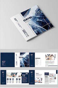 brochure for web design company.html