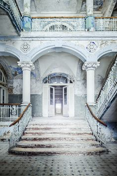 ABANDONED by KONTROLLHAMSTER , via Behance
