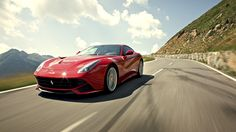 Ferrari F12 Berlinetta - 730 bhp, 0 to 62 mph in 3.1 seconds. Absolutely stunning!