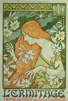 Lermitage Print By Paul Berthon